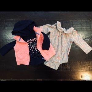🍁3 for 20 🍁 Shirts/Vest set